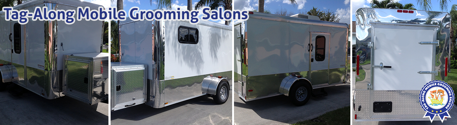 Mobile Dog Grooming Trailers For Sale Banner Slides